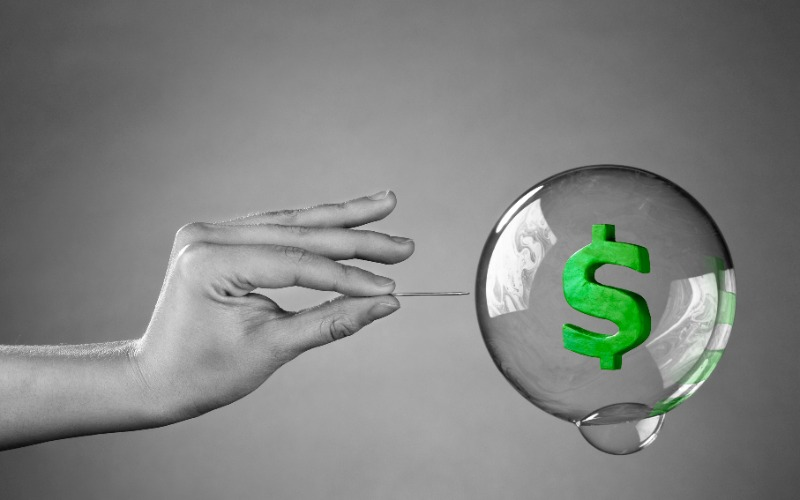 FInancial Bubble? Harga Emas diPrediksi menyentuh $4.000